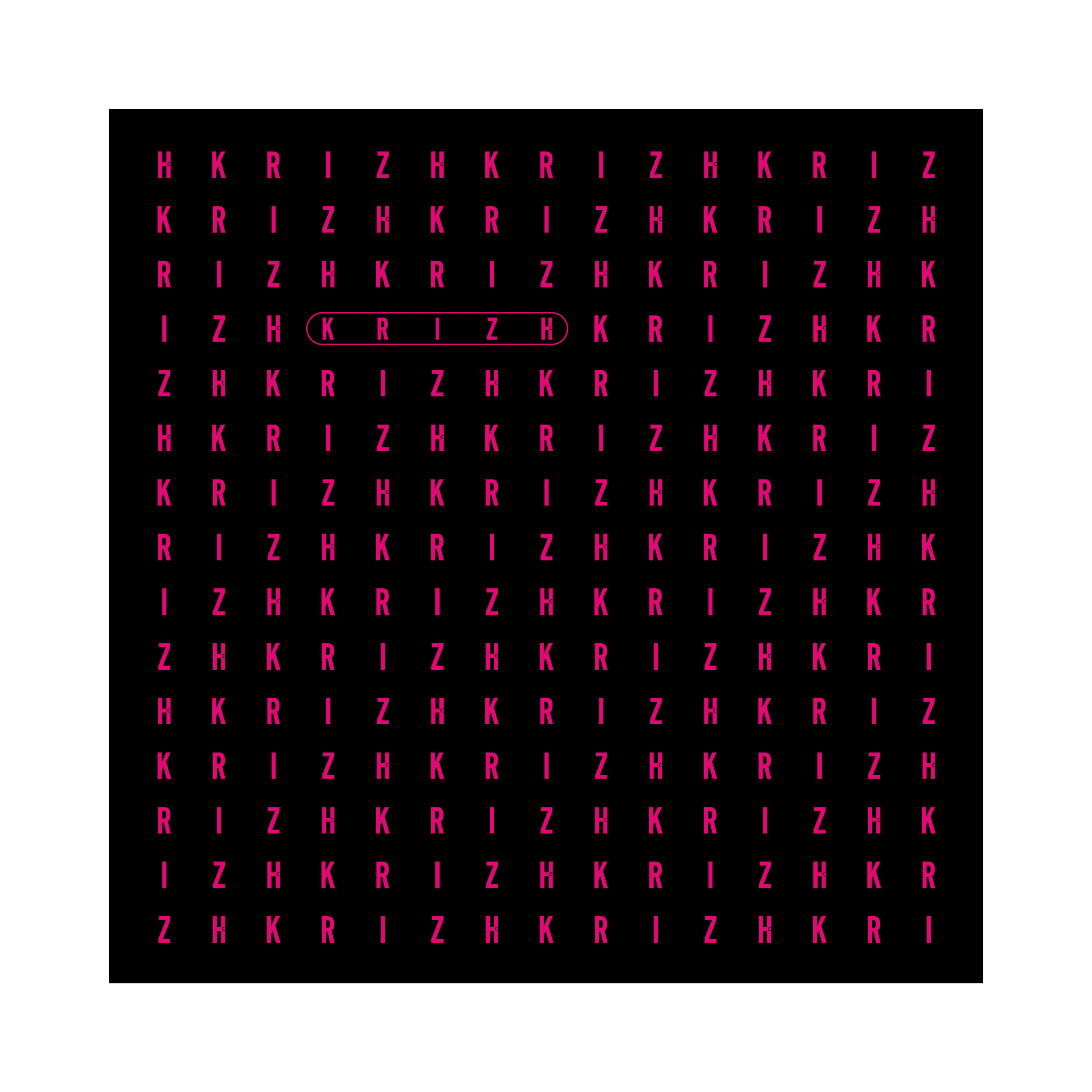 KRIZH Muster Buchstaben (4)