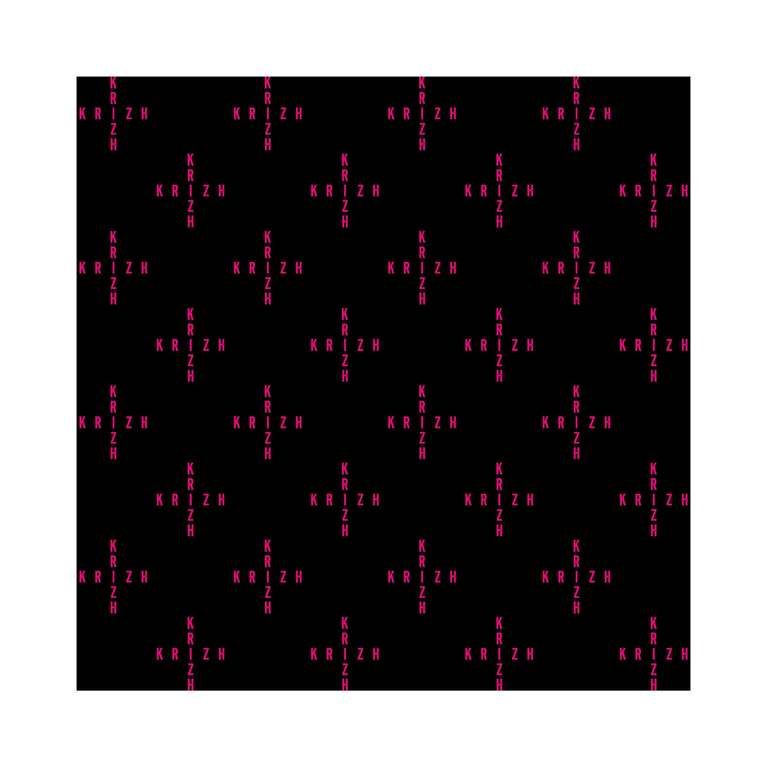 KRIZH Muster Kreuz (1)