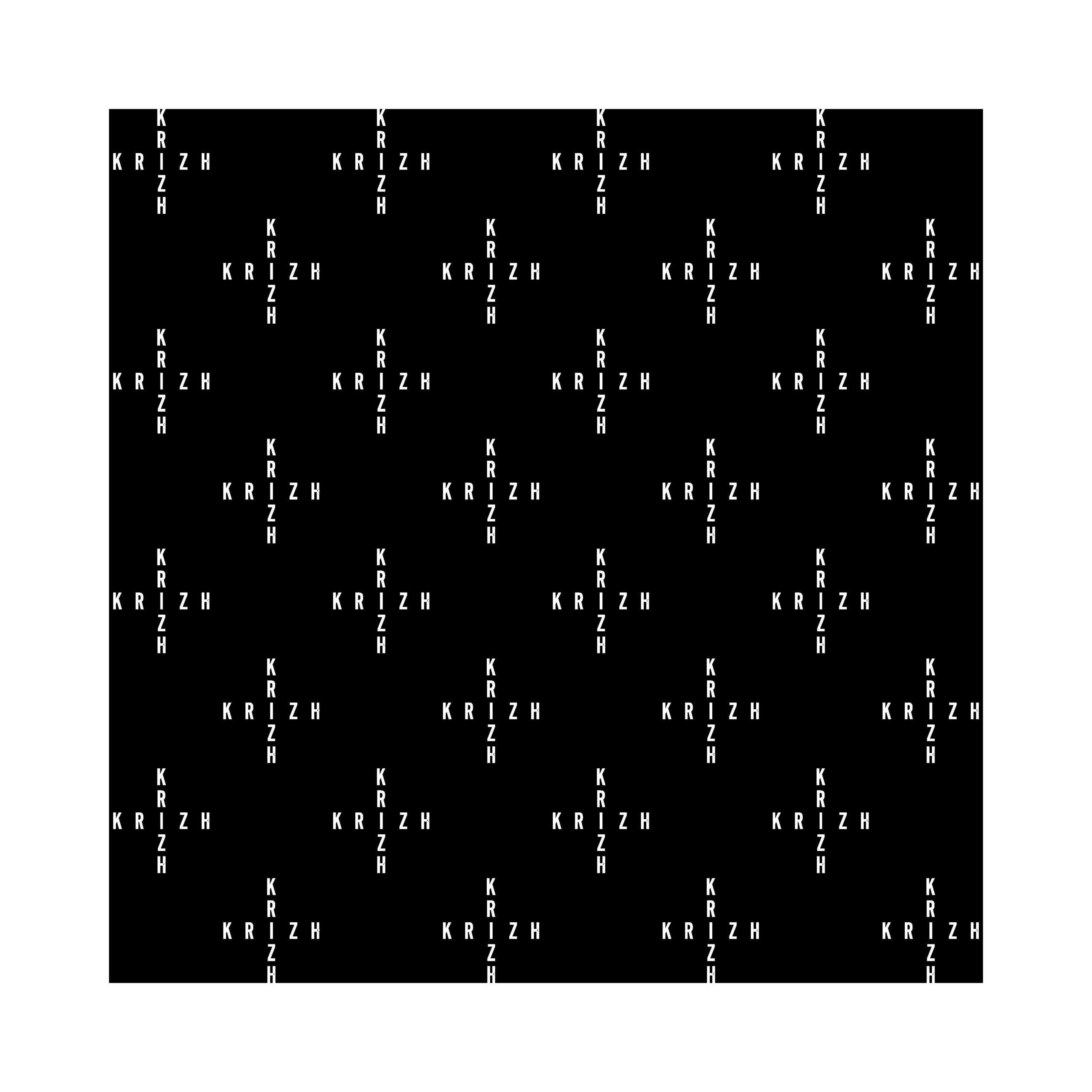 KRIZH Muster Kreuz (3)